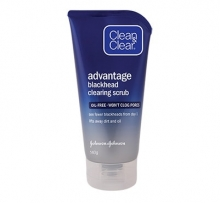CLEAN & CLEAR® Advantage Blackhead Clearing Scrub 140g