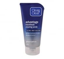 CLEAN & CLEAR® Advantage Blackhead Clearing Scrub 140g