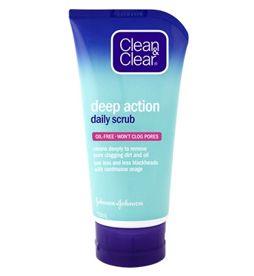 CLEAN & CLEAR® Deep Action Daily Scrub 150mL