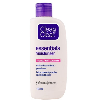 CLEAN & CLEAR® Essentials Moisturiser 100mL